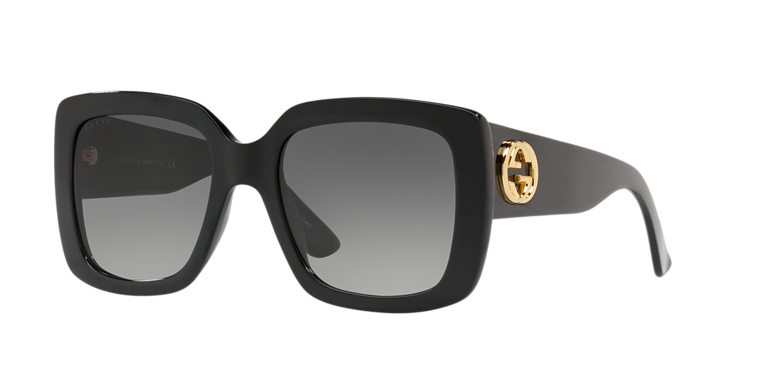 ea154bd9086f8 Gucci GC001051 53 Grey-Black   Black Sunglasses