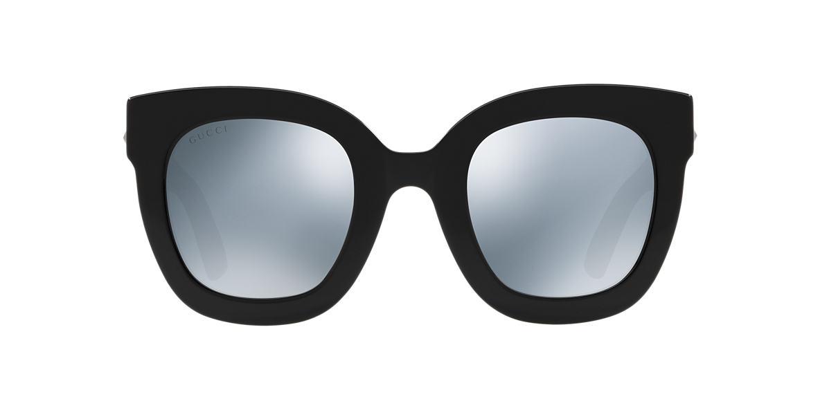 Black GG0208S Grey-Black  49