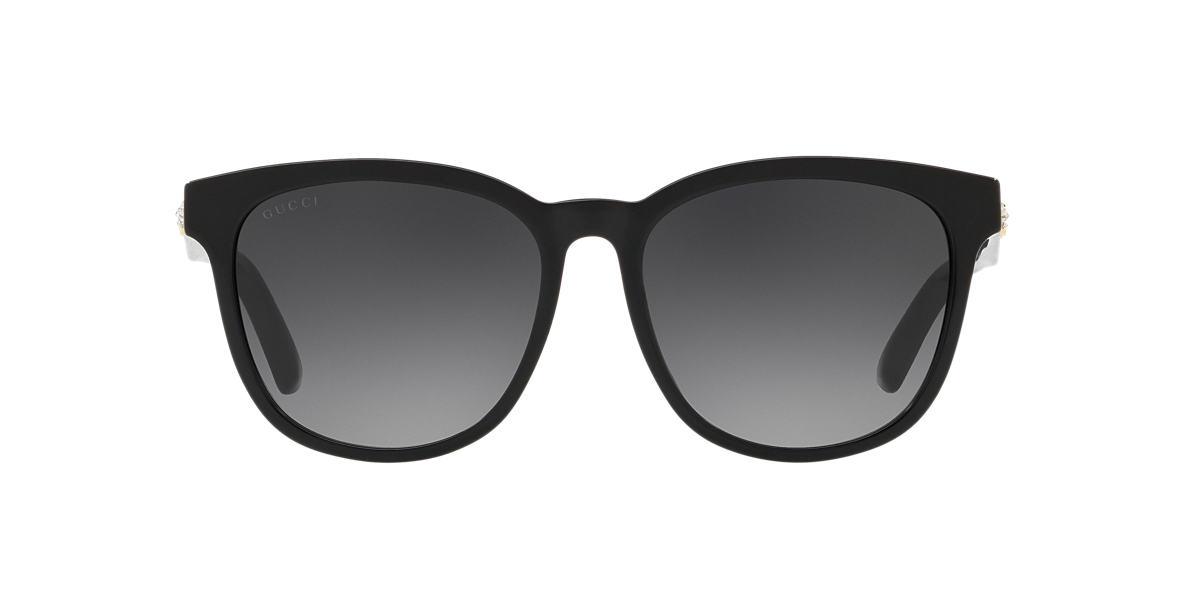 Black GG0232SK Grey-Black  56