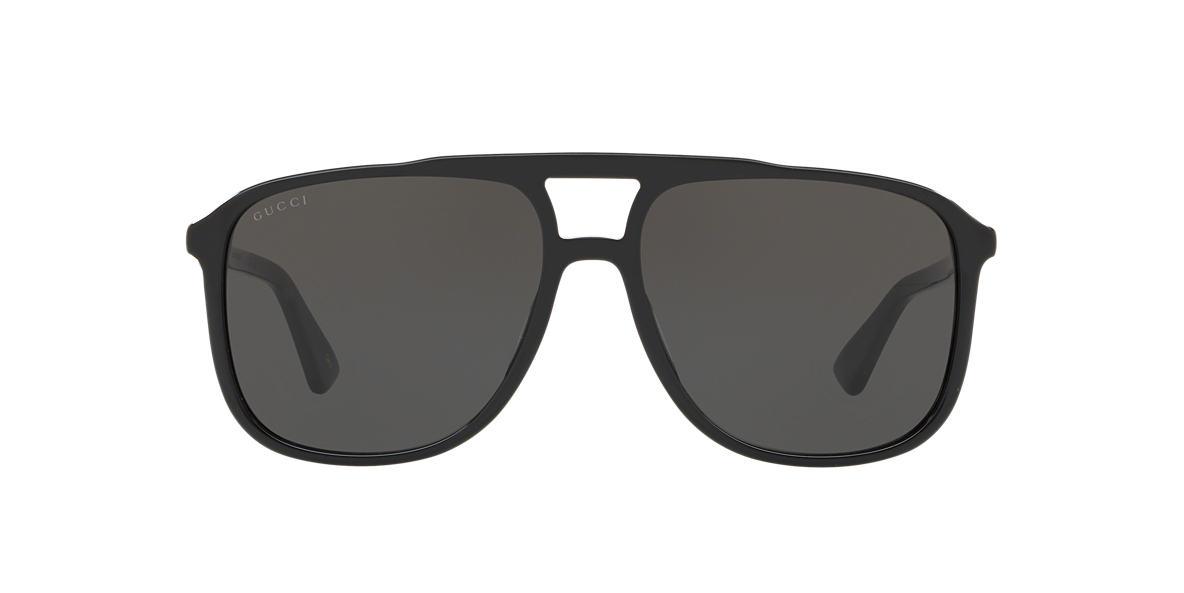 Black GG0262S Grey-Black  58