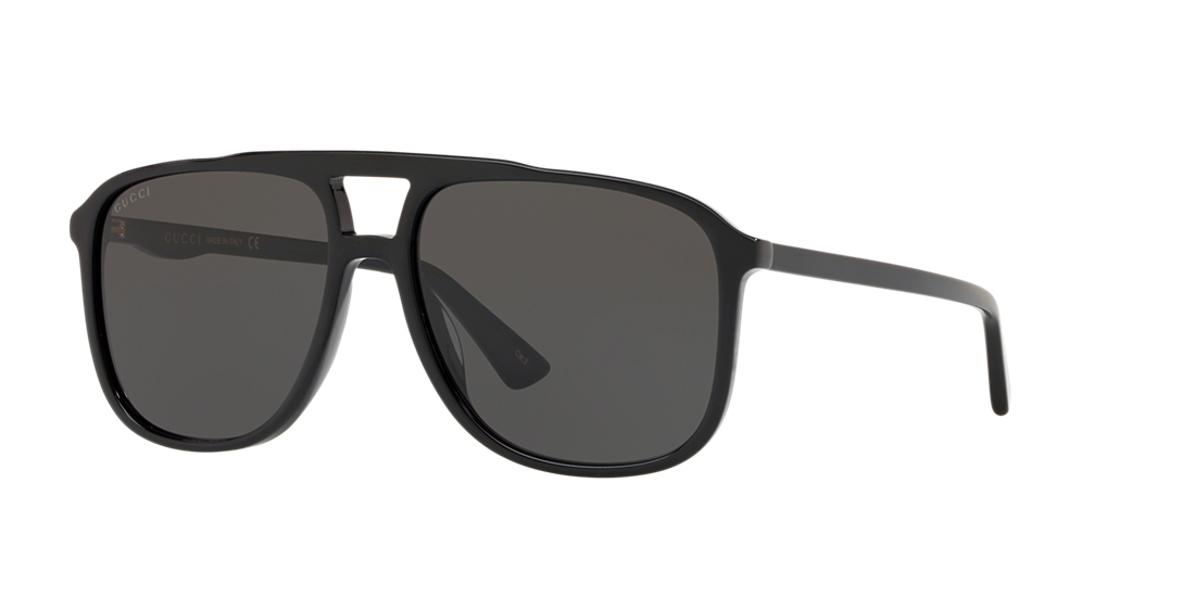b3cc862912 Gucci GC001124 58 Grey-Black   Black Sunglasses
