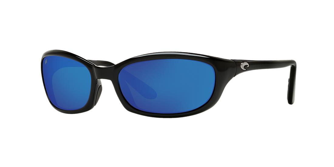 Costa Del Mar Unisex  HARPOON -  Frame color: Black, Lens color: Blue, Size 62-20/130