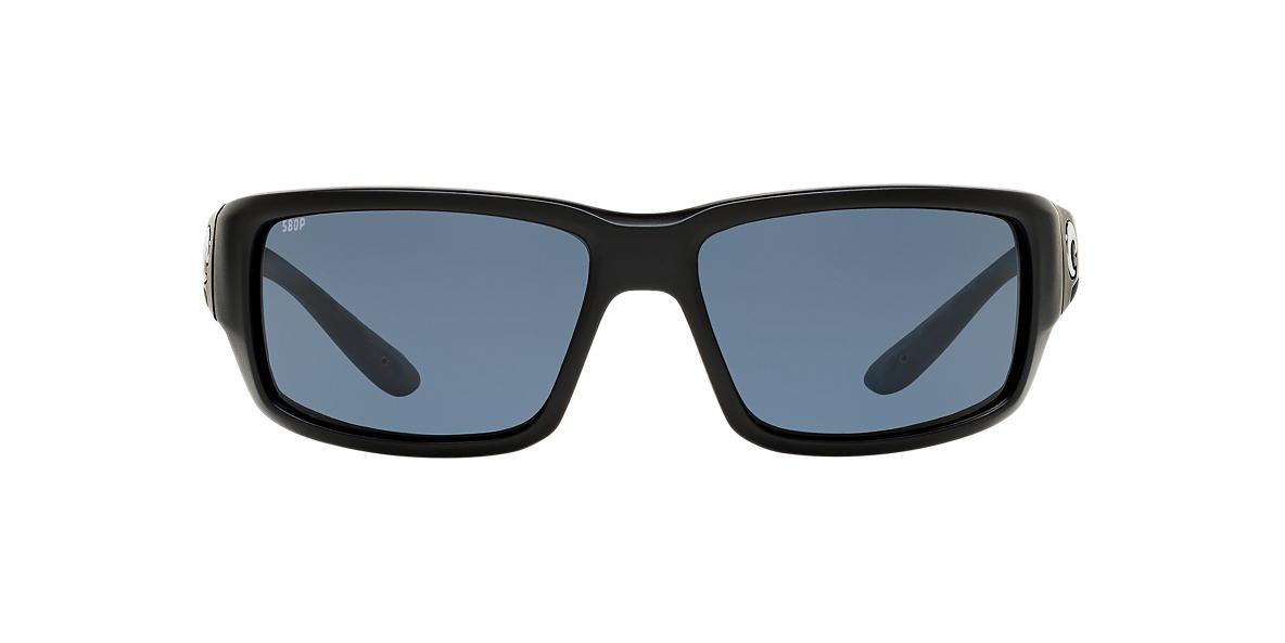 Black FANTAIL POLARIZED Grey-Black  59