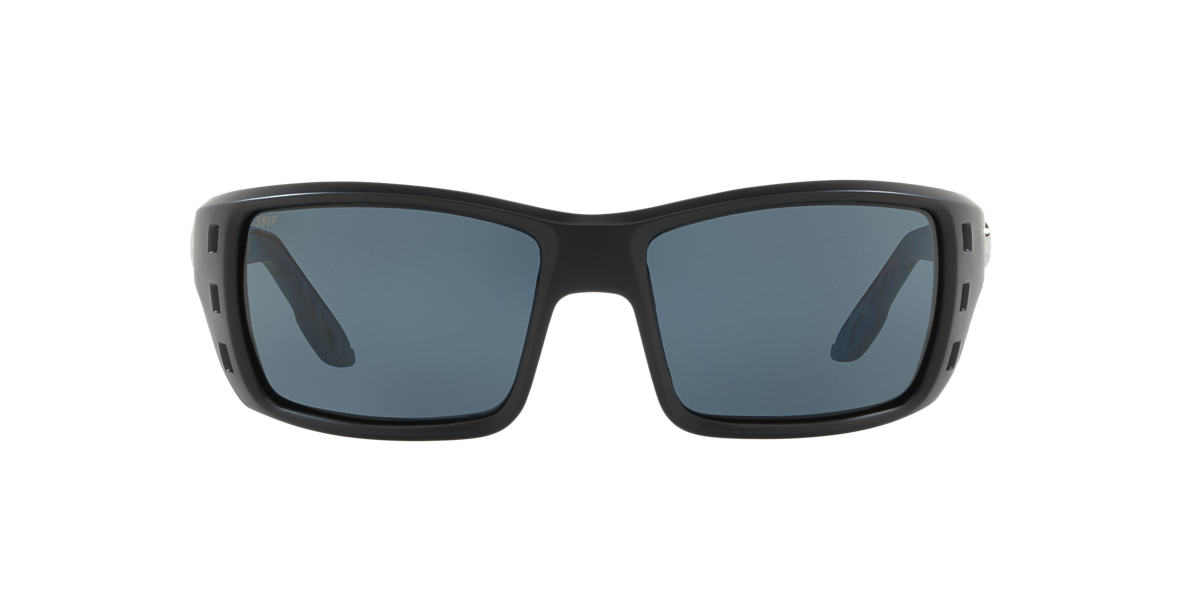 Black Matte PERMIT POLARIZED Grey-Black  60