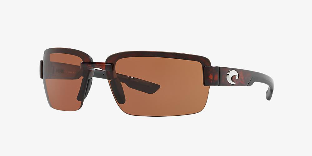 d27ab5d03df8 Costa GALVESTON 67 67 Copper & Tortoise Polarized Sunglasses ...