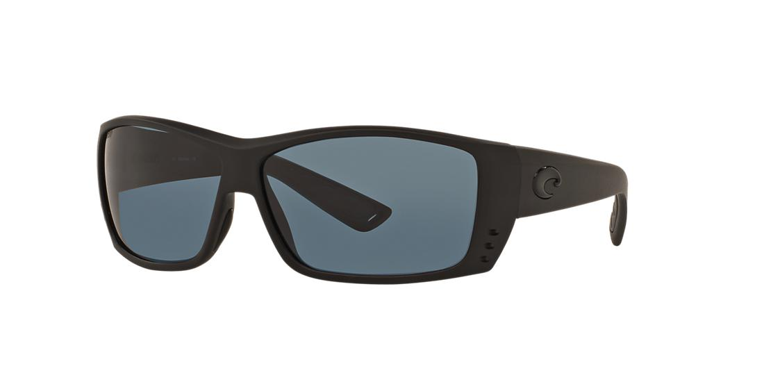 Costa Del Mar Man  CAT CAY POLARIZED -  Frame color: Black, Lens color: Grey-Black, Size 60-12/120