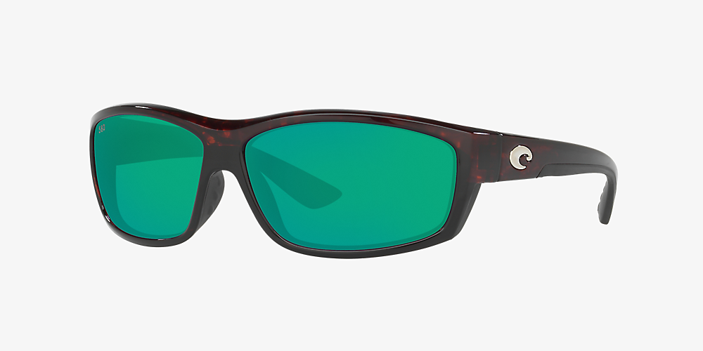 a980f28f0999 Costa SALTBREAK 65 65 Green & Tortoise Polarized Sunglasses ...