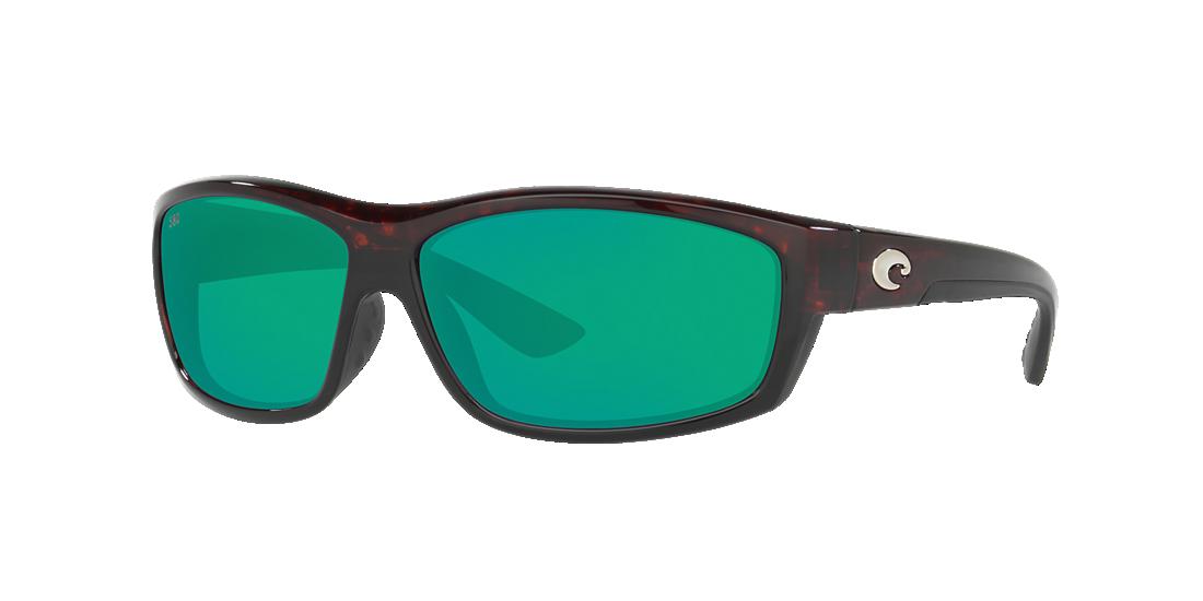 0807eeeeb5 Costa Del Mar SALTBREAK 65 65 Green   Tortoise Polarized Sunglasses ...