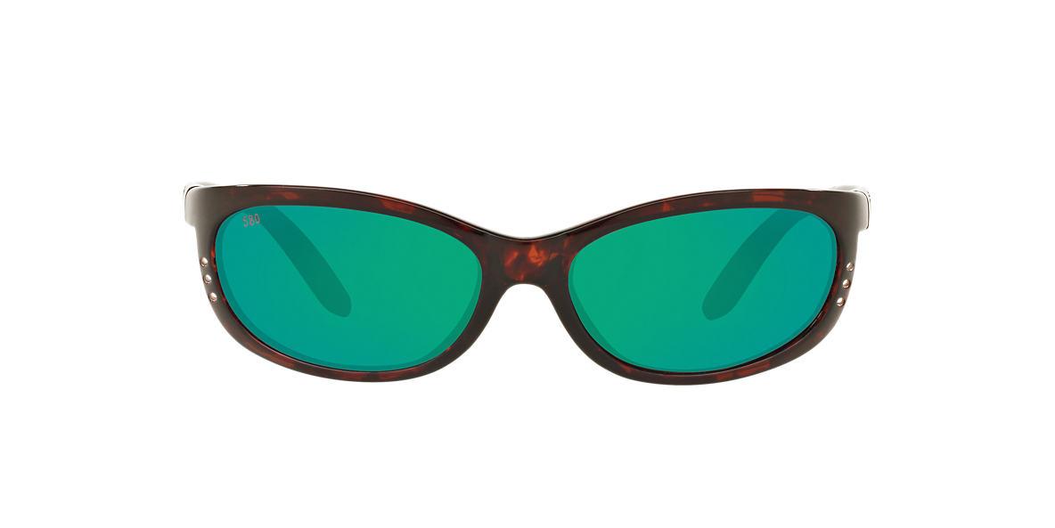 6804aef7ed29 Costa FATHOM 61 61 Green & Tortoise Sunglasses | Sunglass Hut USA