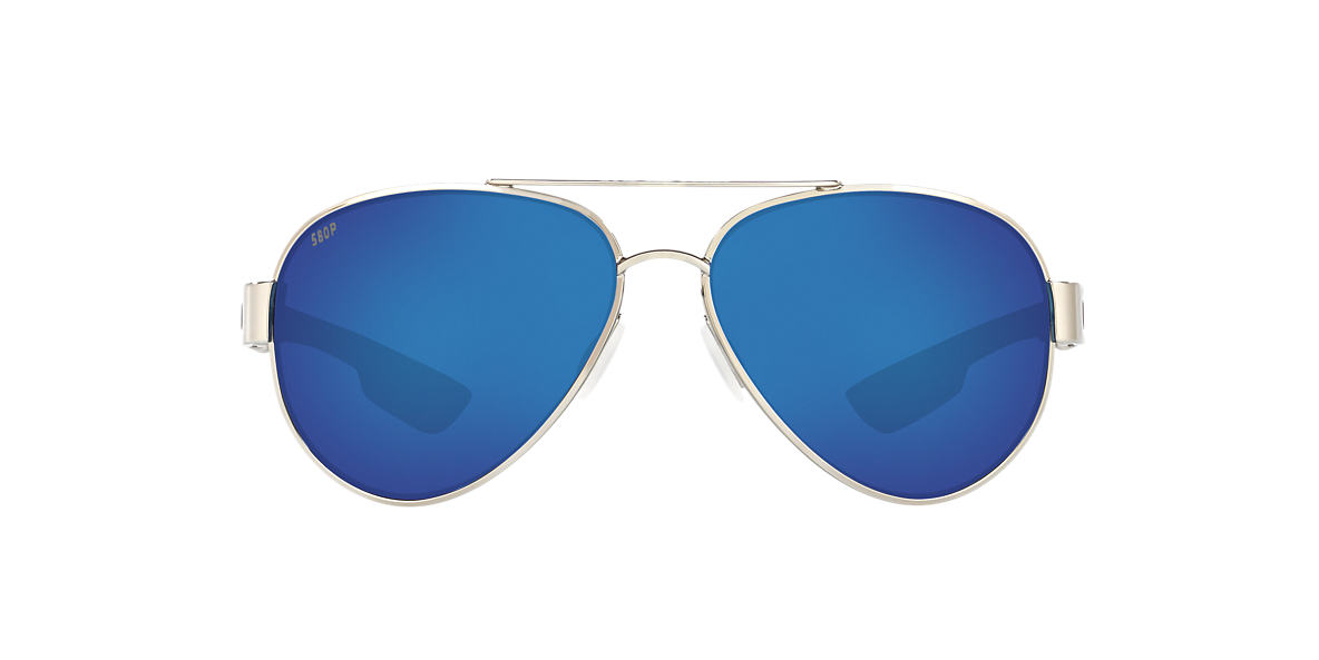 d2536fb6a5d Costa Del Mar SOUTH POINT 59 59 Blue   Silver Polarized Sunglasses ...