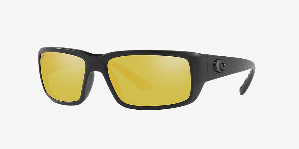 5004fe6003ff Costa FANTAIL POLARIZED 59 Yellow & Black Polarized Sunglasses ...