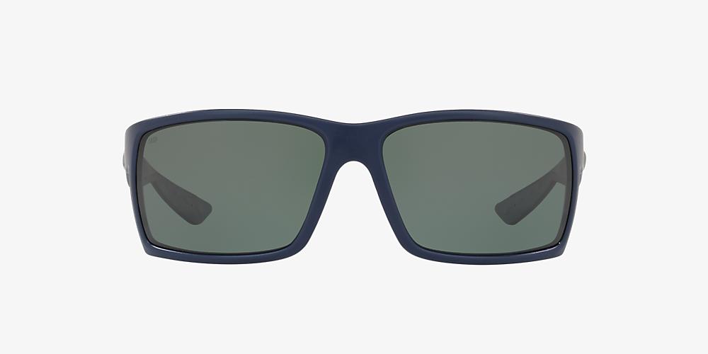 ce566803af9b Costa REEFTON 64 Grey-Black & Blue Polarized Sunglasses   Sunglass ...