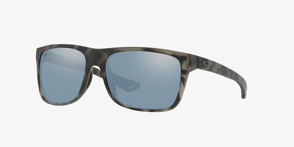 7d0568e4a3f3 Costa REMORA 56 Silver & Black Polarized Sunglasses | Sunglass Hut USA