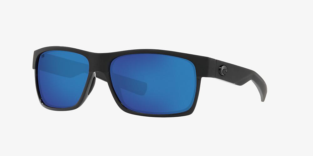 b7ac72397345 Costa HALF MOON 60 Blue & Black Polarized Sunglasses   Sunglass Hut USA