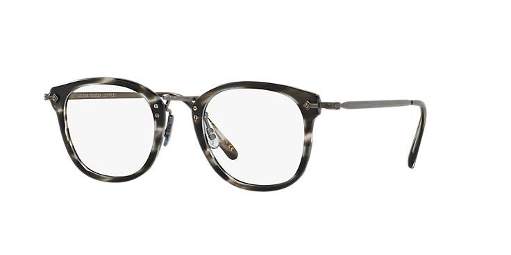 7363c7b007eae Optical OV5350 - Semi-matte Ebonywood antique Pewter - Demo Lens - Acetate