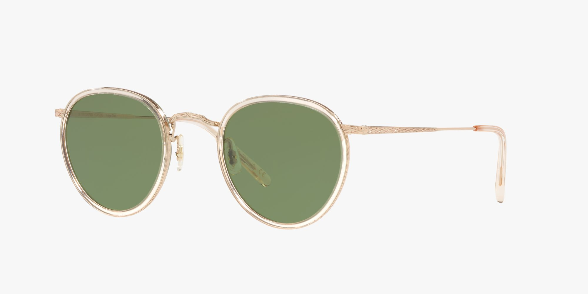 Icons OV1104S - Buff/gold - Green C - Metall | Oliver Peoples ...