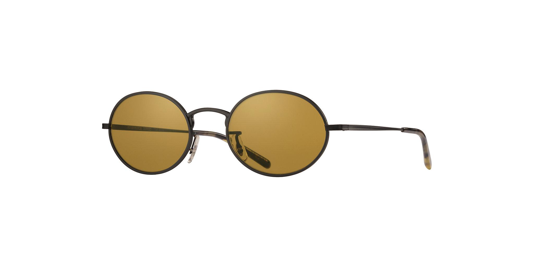 9b0a57ebf1e Brands Sun OV1207S - Noir Opaque - Deep Amber - Métal