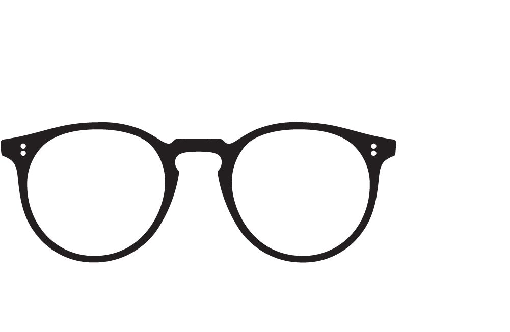 eyeglasses frame icon