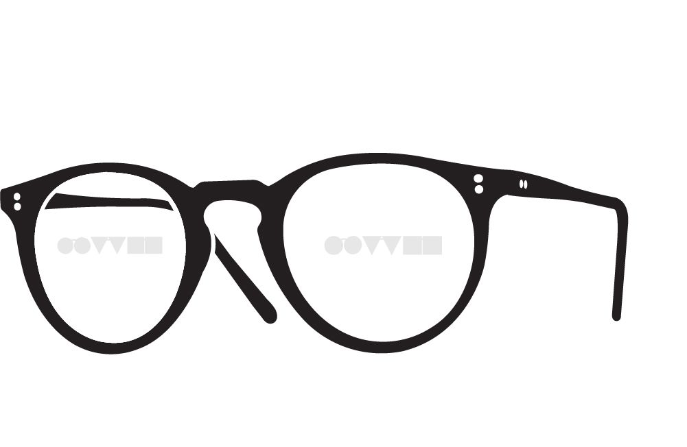 eyeglasses frame side icon