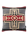 Crossroads Woven Chindi Pillow