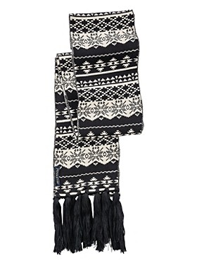 Long Fringed Scarf