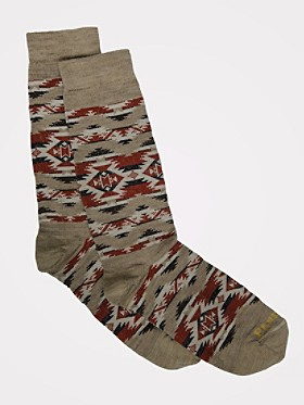 Mountain Majesty Crew Socks