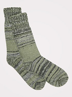 Color Block Marl Socks