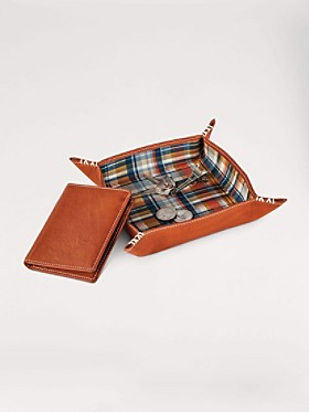 Valet Tray And Wallet Gift Set