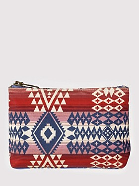 Canyonlands Canvas Zip Pouch