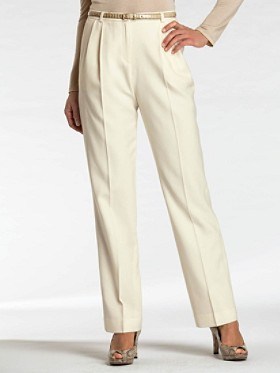 Seasonless Wool Pleat Trousers