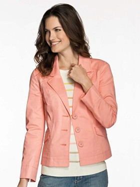 Stretch Twill Taylor Jacket