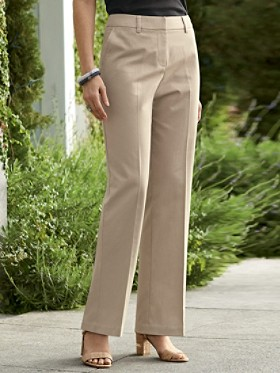 Wrinkle-less Chic Chinos