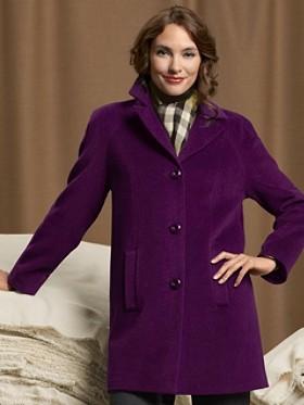 Chic Raglan Coat