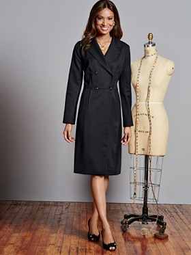 Seasonless Wool Caroline Coat Dress