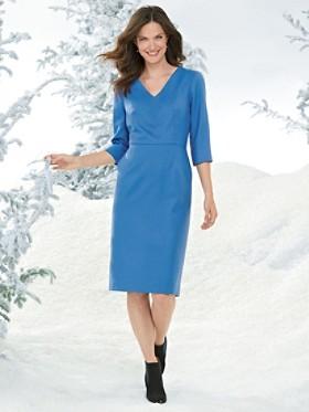 Wool Flannel Town Dress