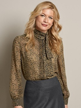 Ashley Tie Blouse