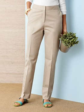 Stretch Twill Alix Trousers