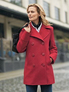 Anchors Aweigh Peacoat