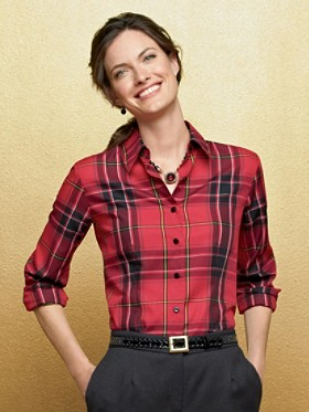 Tartan Shaped Shirt