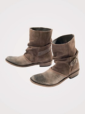 Shortie Slouch Boots