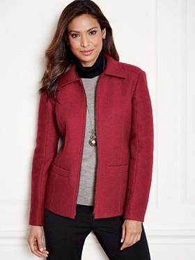Brynne Boiled Wool Jacket