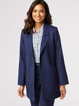 Wool-lin Longline Jacket