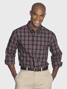 Fitted Canterbury Button-down Shirt