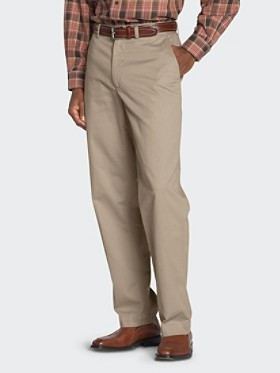 Adams Plain-front Pants