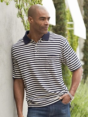 Windsor Striped Polo