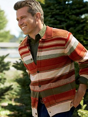 Santa Fe Stripe Cardigan