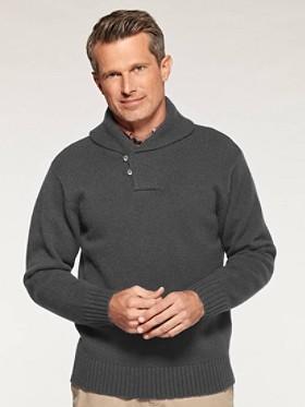 Irvington Shawl Collar Pullover