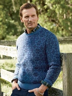 Basket Maker Crew Sweater