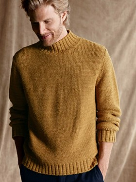 Waldport Alpaca Mock Neck