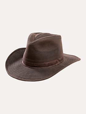 Waxed Cotton Outback Hat